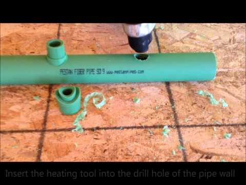 Saddle Outlet Fusion With Pestan Pipe