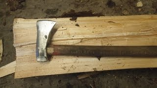 Forging a splitting ax