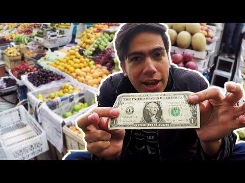 QUÉ COMER CON $1 EN ECUADOR 🇪🇨