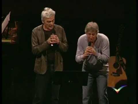 Yves Duteil Avec Daniel Lavoie En Duo Sur 'La Langue De Chez Nous' - Bonus Du DVD Au Dejazet