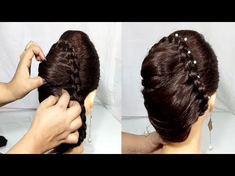 Download Beautiful French Hairstyles For Wedding Party Simple