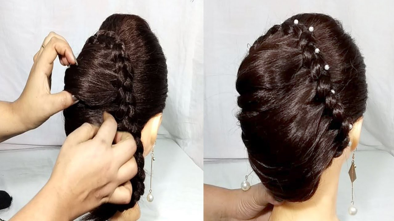 Beautiful French Hairstyles For Weddingparty Simple Hairstyle