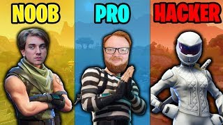 NOOB vs PRO vs HACKER #1 (Svenska Fortnite Funny Moments - Faits saillants)
