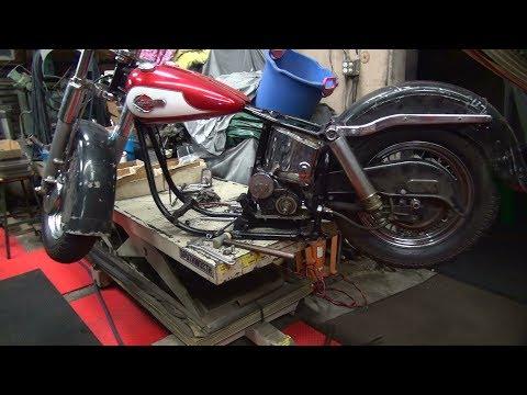 #1 1950 & 1959 panhead parts hunting at tatro machine see tatro's version of a shop tour