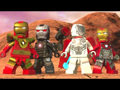 LEGO Marvel Super Heroes 2 - All Iron Man & Iron Armor Suits (Showcase)