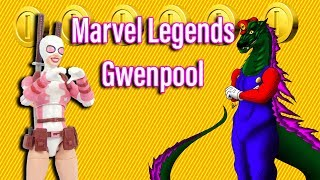 Marvel legends GwenPool Review
