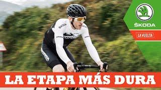 La etapa más dura | Ibon Zugasti | La Vuelta con Škoda