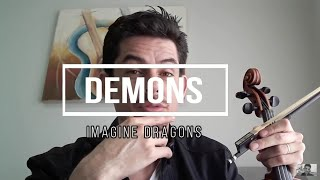 "TUTORIAL Como tocar ""Demons"" Imagine Dragons ( Simplificado) violino. Video"