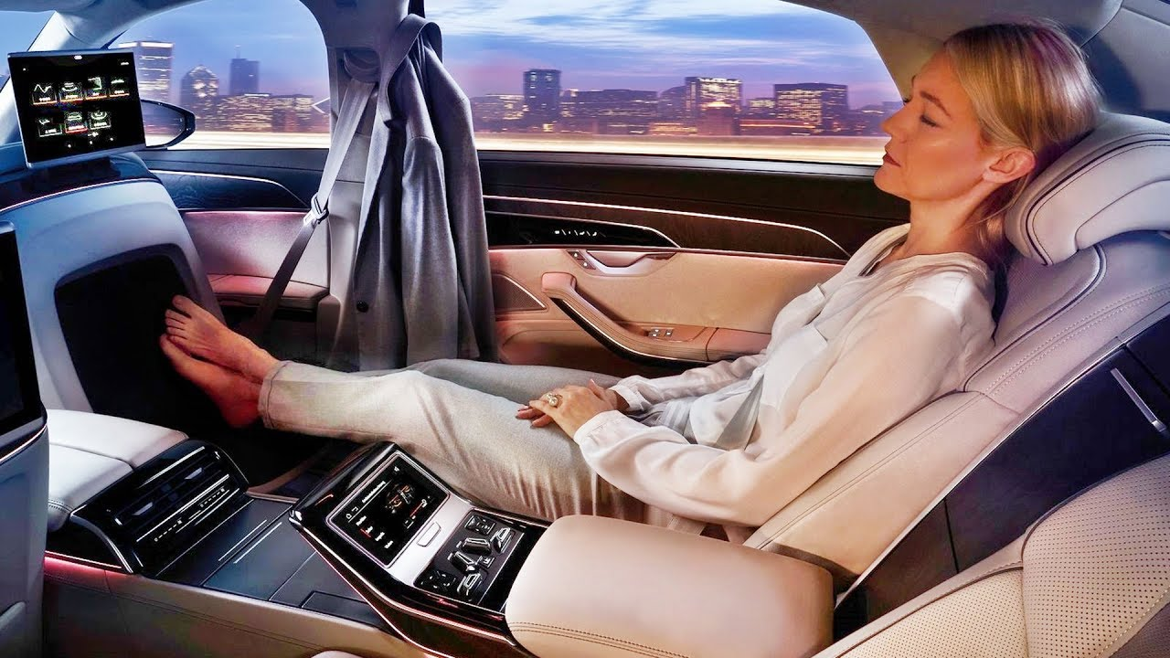 2019 Audi A8 L Luxury Lounge Interior Youtube
