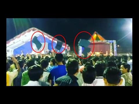 Kirtidan Gadhvi's Dayro In Surat, Crowd Protest In Dayro, Watch Video