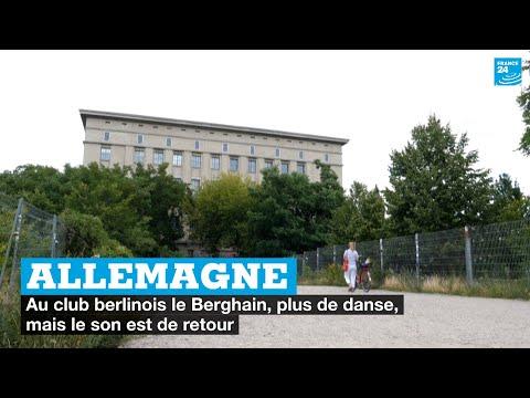 Allemagne : au club berlinois le Berghain, plus de danse, mais le son est de retour