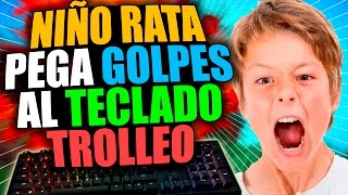 NIÑO RATA GOLPEA AL TECLADO POR TROLLEO | TROLLEOS EN MINECRAFT #68