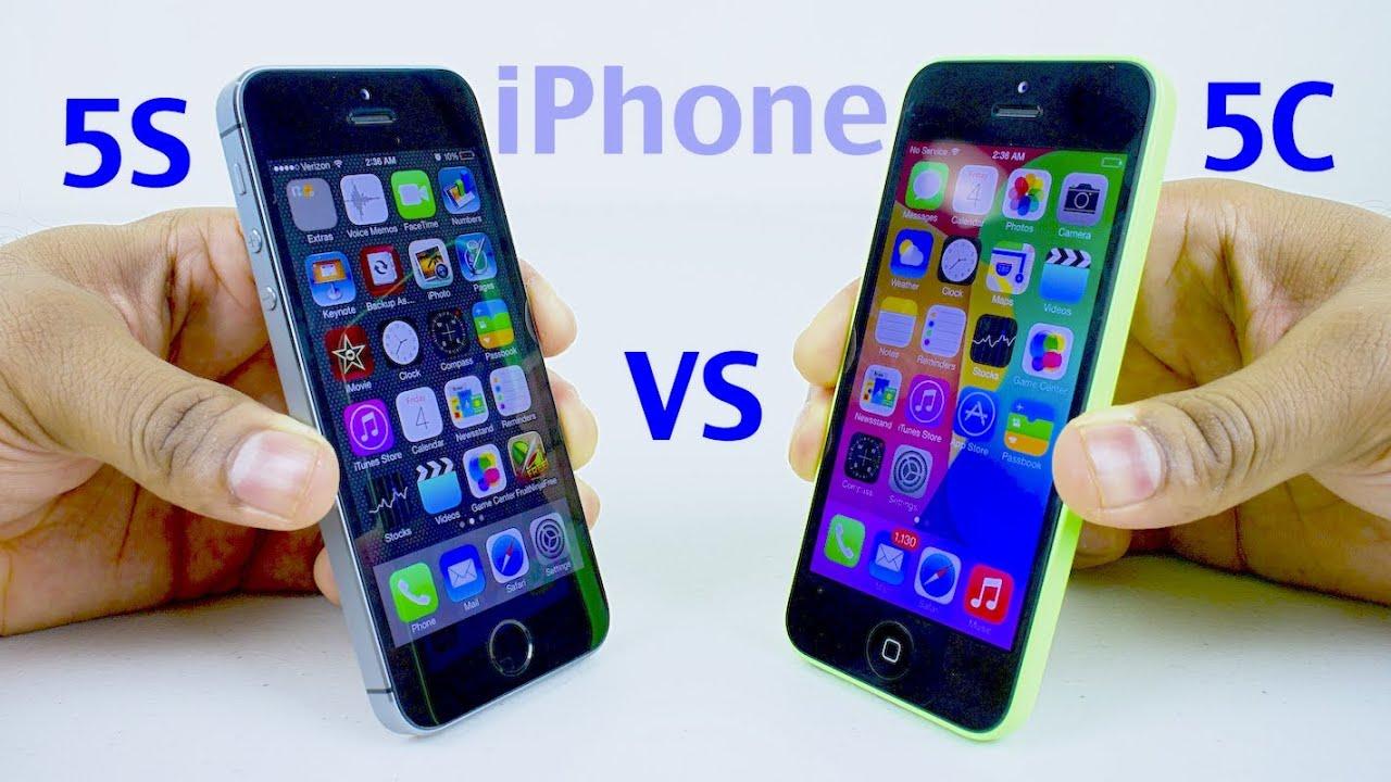 apple iphone 5c vs 5s comparison
