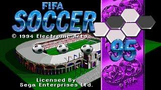 FIFA Soccer 95 gameplay (Sega Mega Drive/Genesis).
