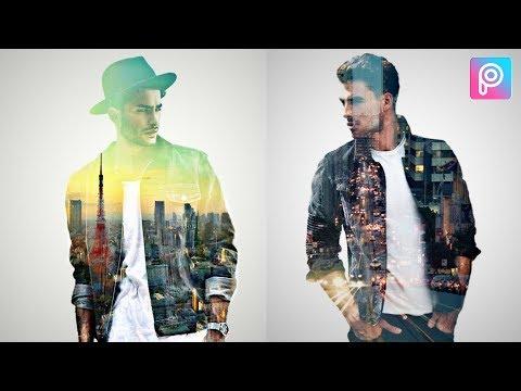 Double Exposure Effect | PicsArt Editing Tutorial | #doubleexposure