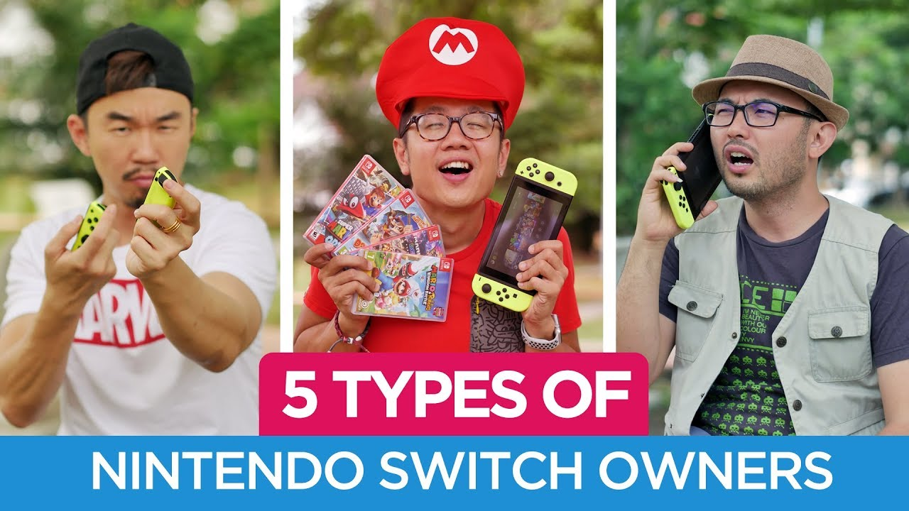 5 Types of Nintendo Switch Owners | TricycleTV