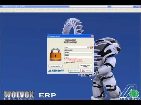WOLVOX ERP Şirket Kurulum İşlemleri