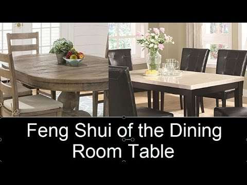 Feng Shui of the Dining Table: How to get better family relations