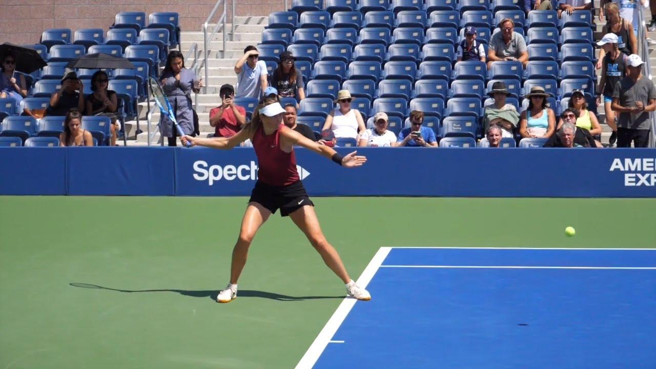 Maria Sharapova Forehand Slow Motion  - WTA Tennis Forehand Technique