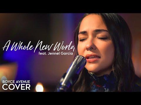 A Whole New World - ZAYN, Zhavia, Mena, Naomi Scott (Aladdin)(Boyce Avenue ft. Jennel Garcia cover) from YouTube · Duration:  4 minutes 9 seconds