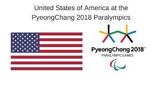 USA at the PyeongChang 2018 Winter Paralympic Games