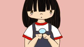 Drawing an Animated Chibi Gif on Photoshop (TimeLapse)