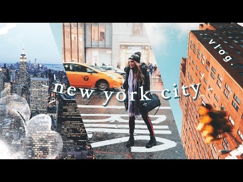 New York City im Winter // a travel diary vlog by I'mJette
