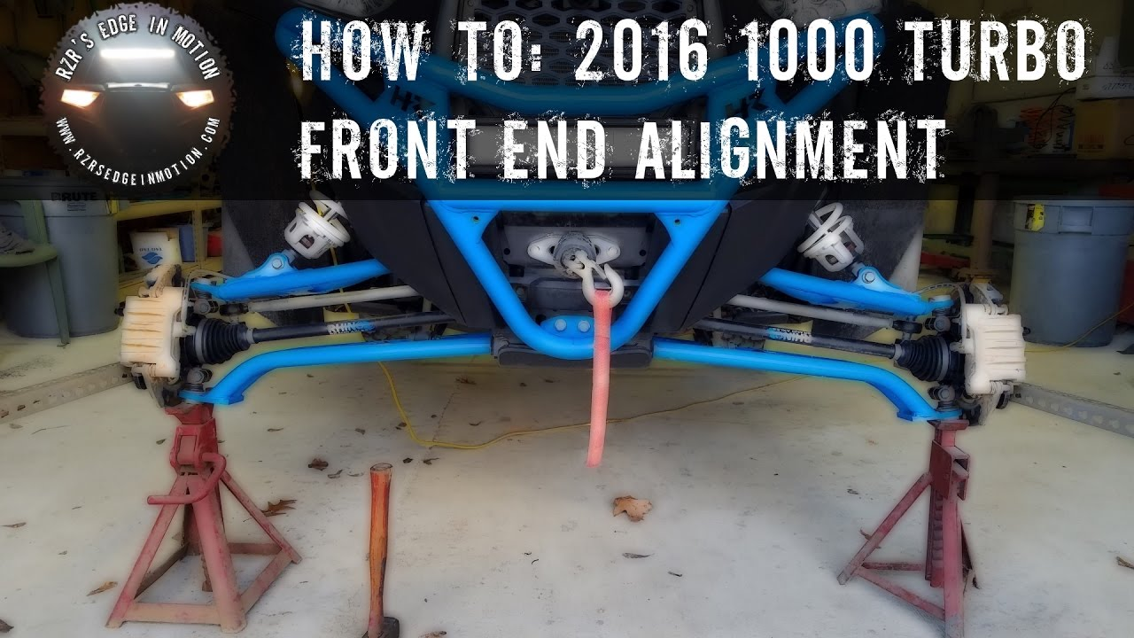Rzr How To Front End Alignment Youtube 2013 Polaris Ranger 900 Light Bar Wiring Diagram