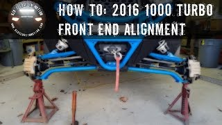 RZR How To - Front End Alignment