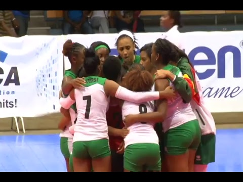 Volleybal live vanuit Jamaica : Suriname - Guadelope