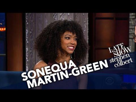 Sonequa MartinGreen Offers A Taste Of 'Star Trek: Discovery'