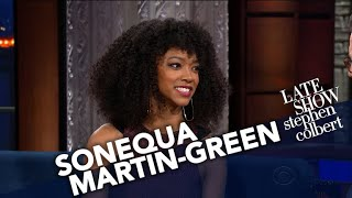 Sonequa Martin-Green Offers A Taste Of 'Star Trek: Discovery'