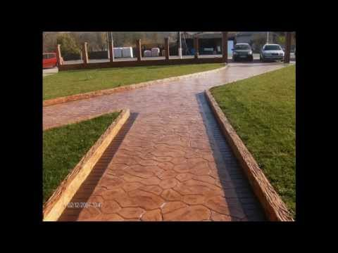 Pavimentos hormigon impreso precios m2 youtube for Hormigon impreso precio m2 malaga