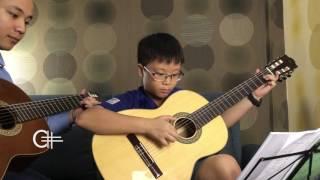 Scarborough Fair - Guitar Thầy trò Văn Anh & Khang Minh