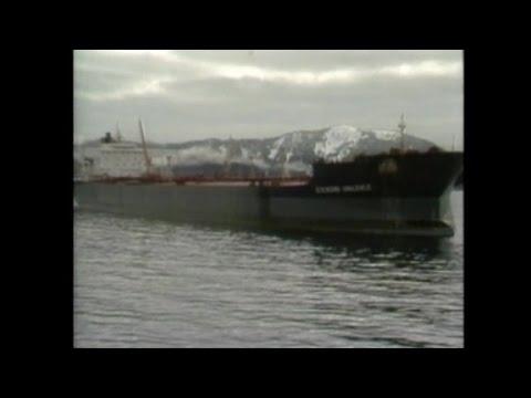 1989: Exxon Valdez tanker spill
