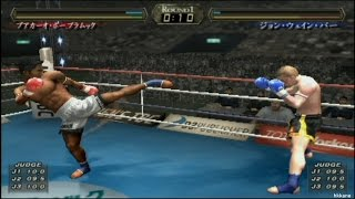 K-1 World Max 2005 PS2 Gameplay