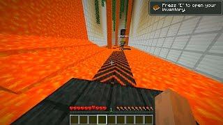 Minecraft Death Run #2 with Vikkstar123, BajanCanadian, CraftBattleDuty & PeteZahHutt