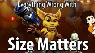 Everything Wrong With Ratchet and Clank: Size Matters | valeforXD