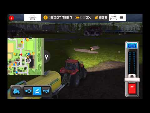 farm sim 15 how to get rid of grass