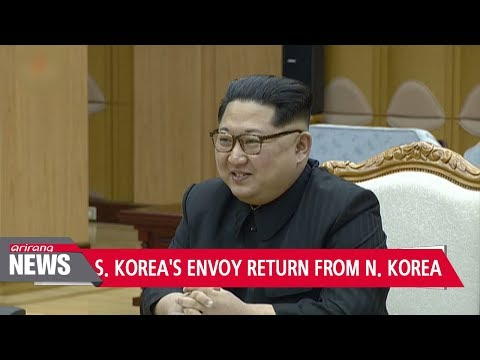 S. Korea's chief special envoy to N. Korea holds news briefing