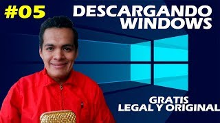 COMO DESCARGAR WINDOWS XP, 7, 8, 8.1 & 10 GRATIS, LEGAL Y ORIGINAL (2018)