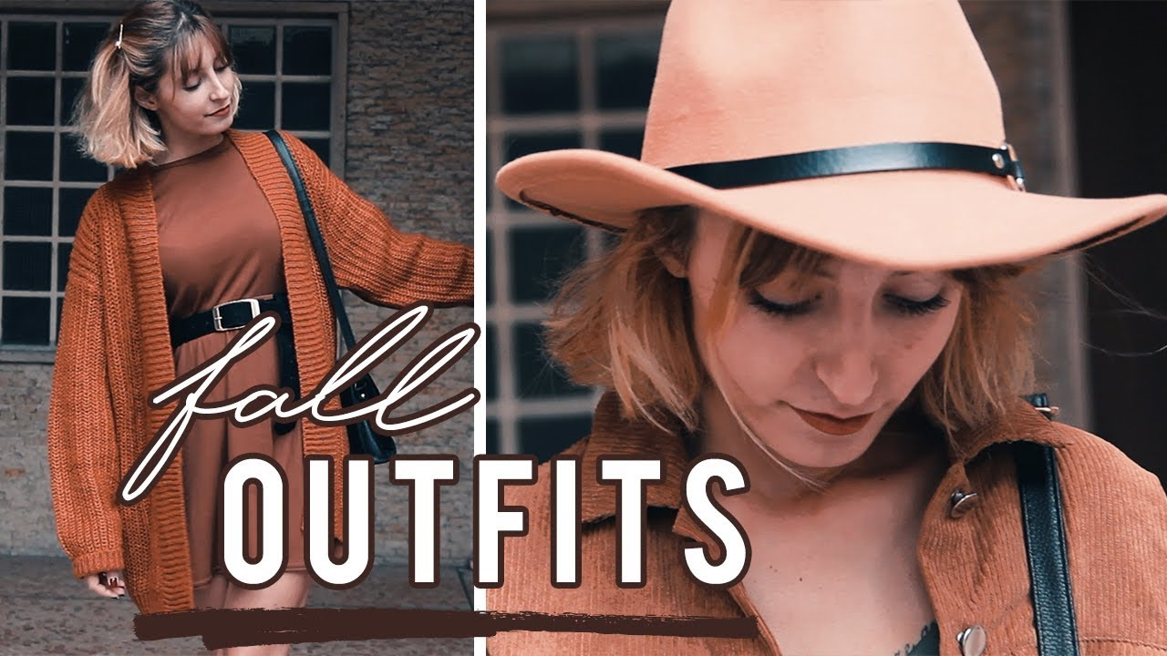 [VIDEO] - LOOKBOOK // fall outfits 9