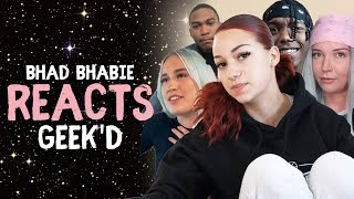 "BHAD BHABIE Reacts to ""Geek"