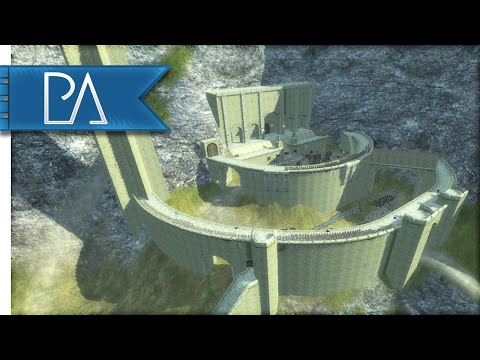 CHAOTIC HELM'S DEEP SIEGE -  Third Age Total War Gameplay