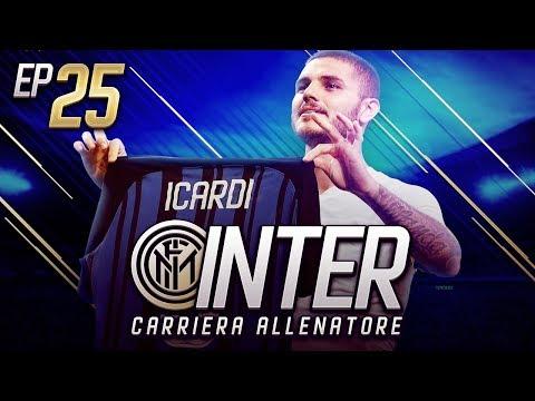EUROGOL DI ICARDI!! IL VIDEO PIU' BELLO DI YOUTUBE ITALIA!!- CARRIERA ALLENATORE INTER EP.25 FIFA 18