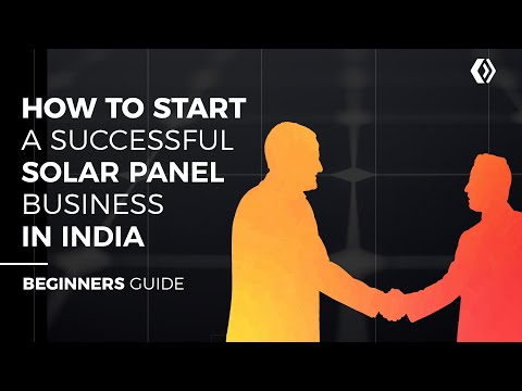 7 Solar Panel Business Opportunities and Ideas For India (Be