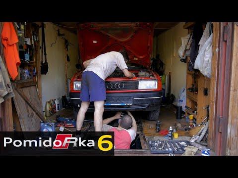 Audi 80. Снова подвеска. Обман в сервисе. Смерть мотора