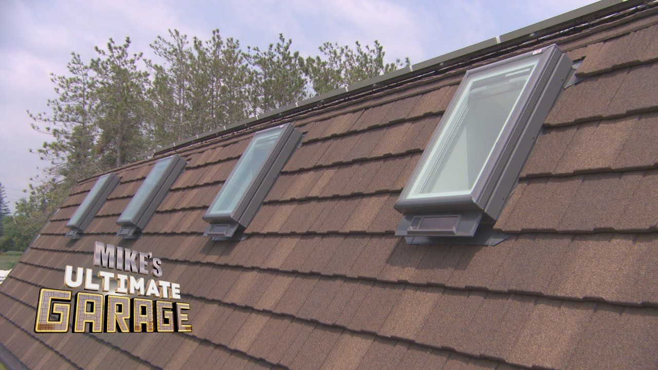 Quot Skylights Quot Mike S Ultimate Garage Inside Look Youtube