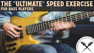"The ""Ultimate"" Speed Exercise For Bass Players /// Scott"