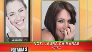 Laura Chimaras revela los detalles de sus nuevos proyectos